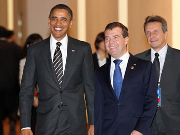 Дмитрий Медведев был рад встрече с Бараком Обамой (Barack Obama)