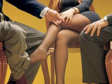 Секс непристойный на работе