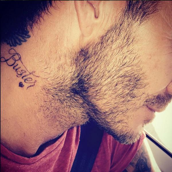 Дэвид Бекхэм сделал в честь сына татуировку