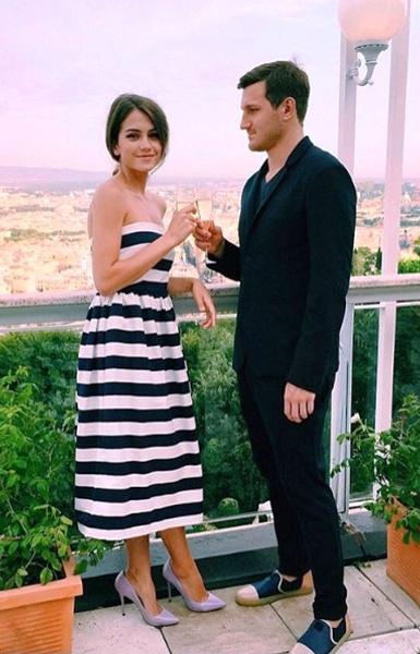 Николай Олюнюн со своей женой Марией