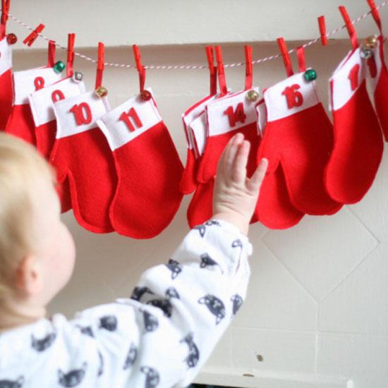 Адвент-календарь для детей своими руками