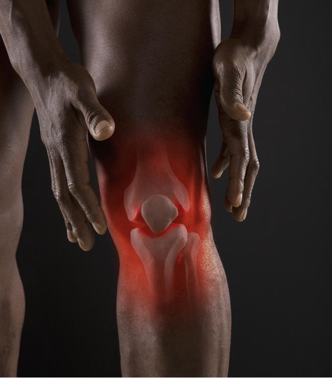 застудить сустав колена