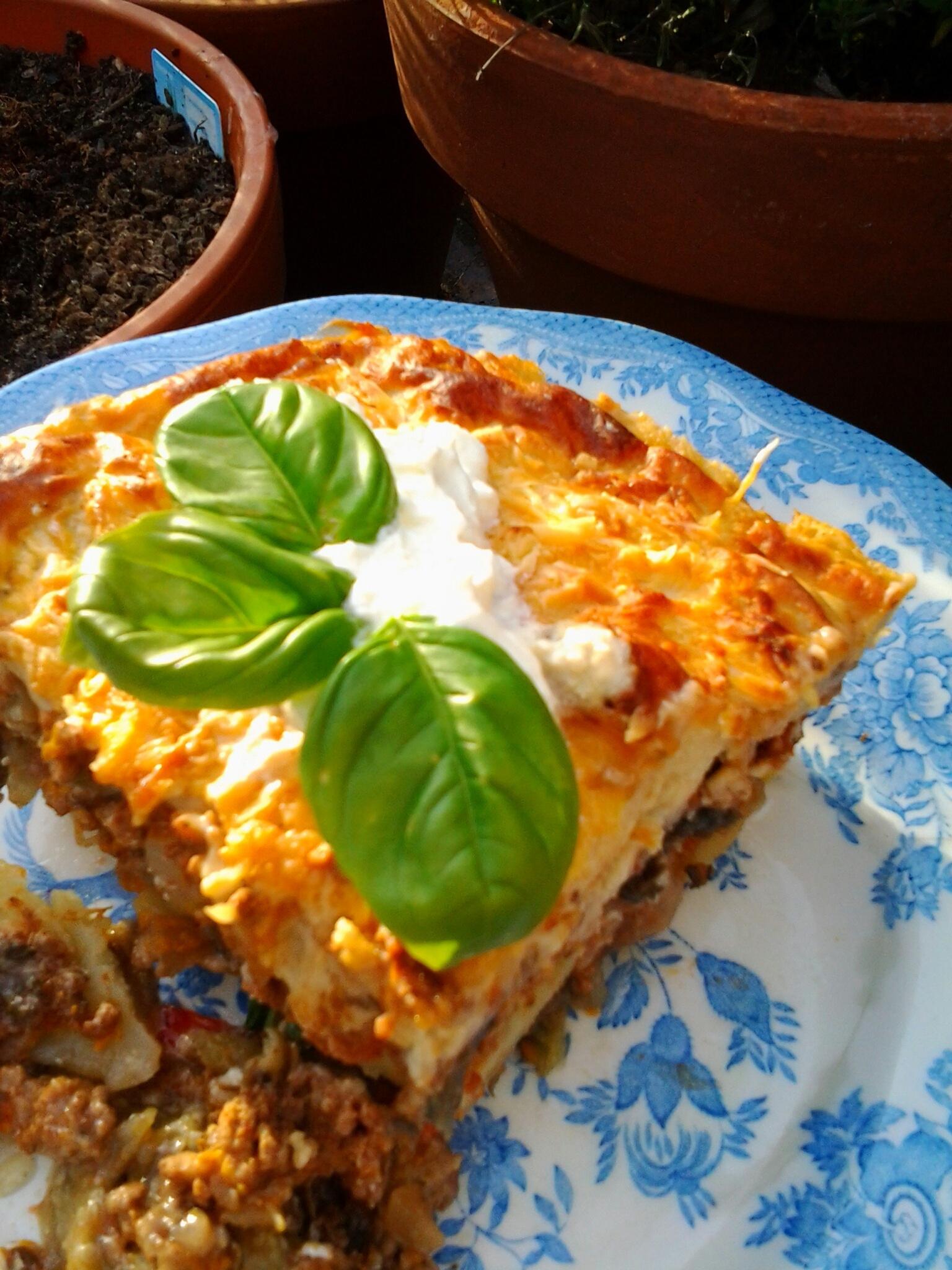 Мусака по гречески с кабачками рецепт пошагово