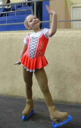 Анна Некрасова, фигурное катание, фото