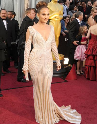 """Дженнифер Лопес (Jennifer Lopez) на """"Оскаре-2012"""""""