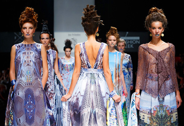 St. Petersburg Fashion Week SS 2015, Anna Ovchinnikova