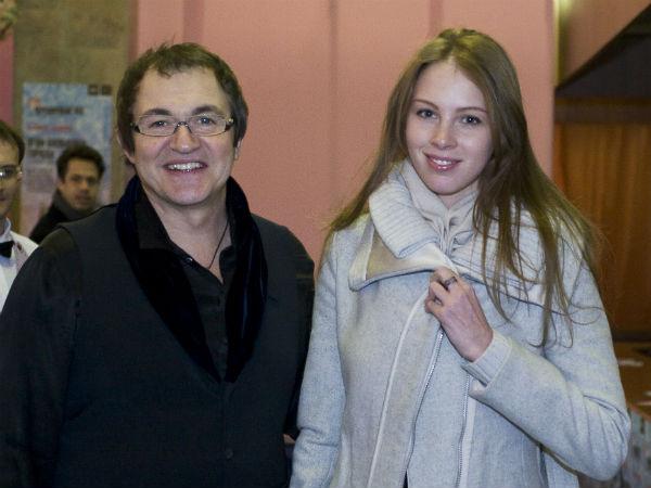 Дмитрий Дибров и Полина