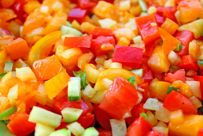 Овощные смеси замороженные