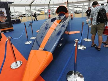 Модель Bloodhound SSC