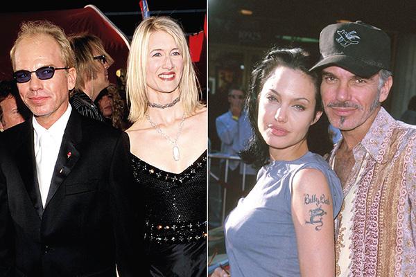 Билли Боб Торнтон с Лорой Дерн (слева) и Анджелиной Джоли