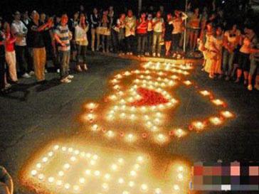 Влюбленные из Китая устроили прощальную церемонию в честь разрыва отношений