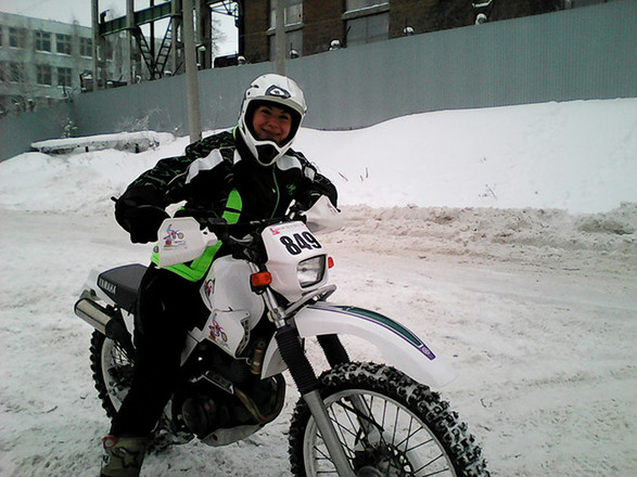 девушки на мотоцикле фото