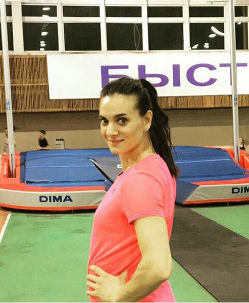 Волгоградские спортсмены Елена Исинбаева