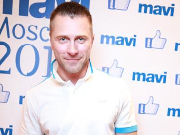Константин Гайдай на открытии магазина Mavi