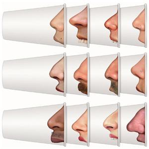 Одноразовые стаканы «Примерь нос», Boomboomroom, 24 шт. 429 руб.