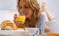 Плотный завтрак поможет похудеть