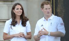 Кейт Миддлтон готовит для принца Гарри