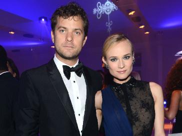 Диана Крюгер и Джошу Джексон на благотворительной вечеринке в Каннах