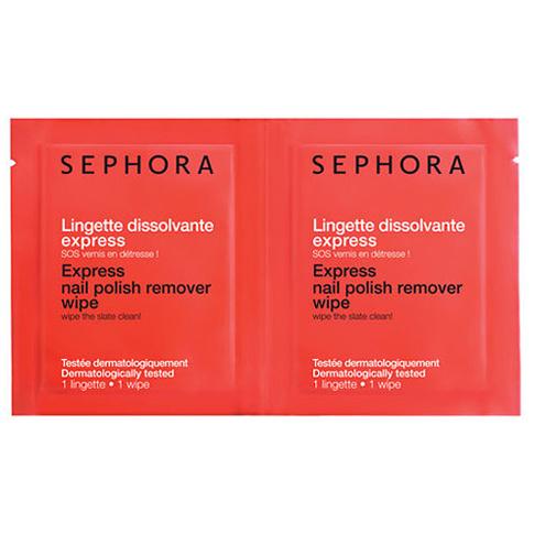 Sephora, экспресс-салфетки для снятия лака