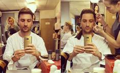 Сергей Лазарев показал фото до и после макияжа