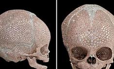Дэмиен Херст инкрустировал бриллиантами череп новорожденного