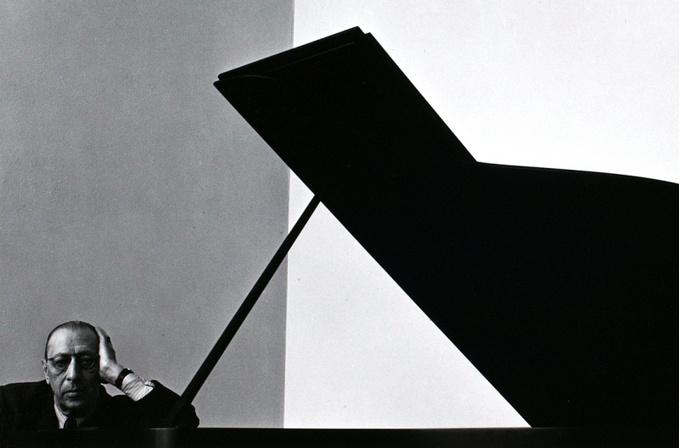 Arnold Newman. Igor Stravinsky, 1946