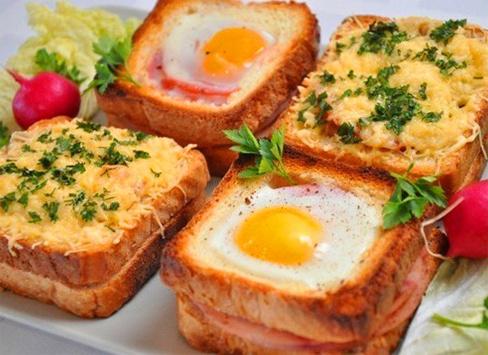На завтрак: горячие бутерброды «Ассорти»