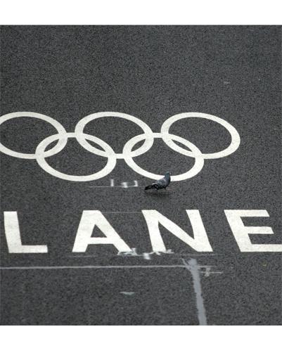 Олимпийский проспект в Лондоне