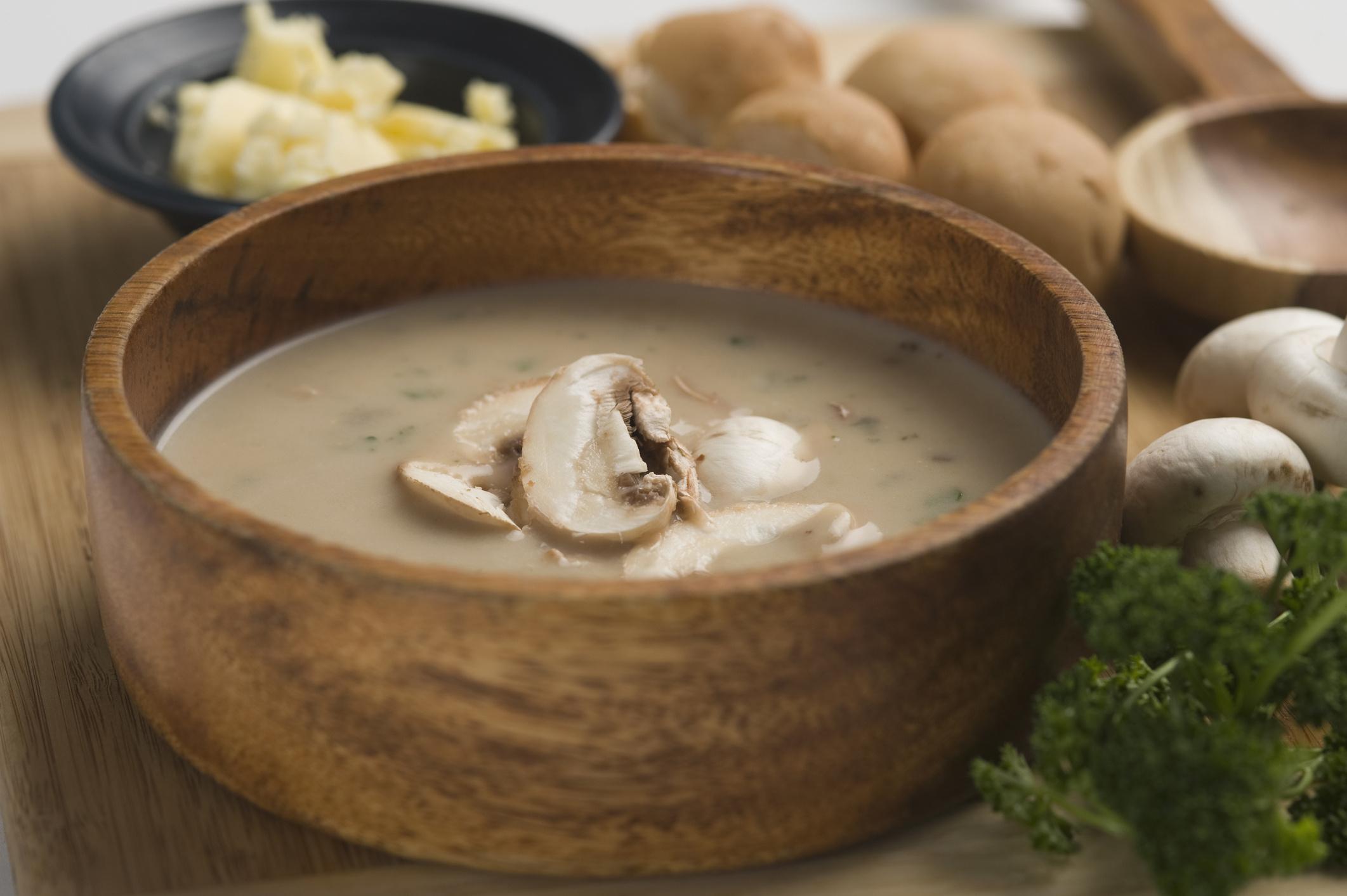 Грибной суп из вешенок с картошкой рецепт