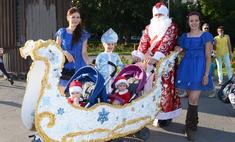 Влюбленные, парад колясок и дефиле будущих мам: яркие фото с летнего праздника