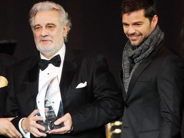 Пласидо Доминго (Placido Domingo) и Рики Мартин (Ricky Martin)