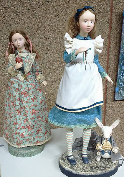 Алена Магарита, Выставка «Тайна кукольного шкафа», фото