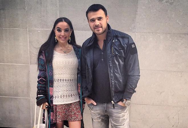 Эмин Агаларов с бывшей женой Лейлой фото