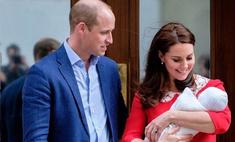Уильям и Кейт определили судьбу сына, дав ему рыцарское имя