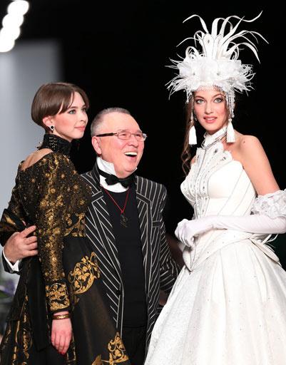 Вячеслав Зайцев показал коллекцию осень-зима 2013/14 на Mercedes-Benz Fashion Week Russia