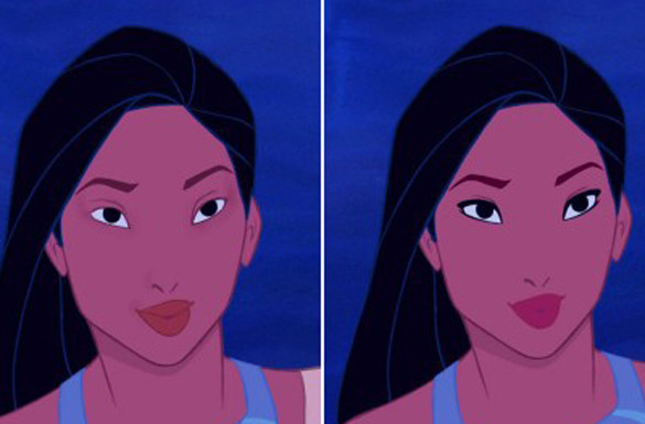 Как выглядят диснеевские принцессы без макияжа