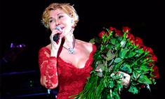 Любовь Успенская в Воронеже вспомнила первого мужчину