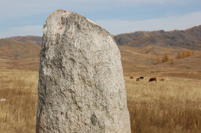 Абакан. Целебный белый камень Ах тас