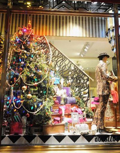 Рождественские витрины магазина Henri Bendel в Нью-Йорке
