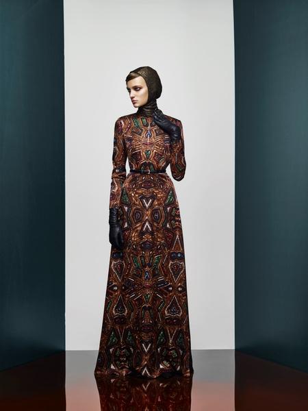 Хозяйка Медной горы: новая pre-fall коллекция A LA RUSSE Anastasia Romantsova   галерея [1] фото [1]