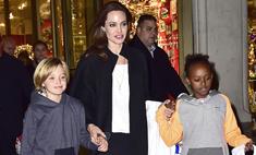 Джоли не разрешает детям пользоваться соцсетями