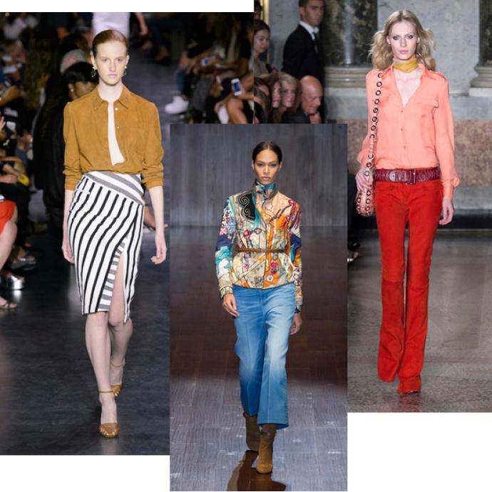 Модные блузки шифоновые 2015