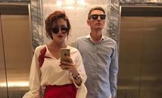 Утяшева заставила мужа сделать первое фото в зеркале