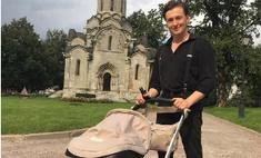 Милота дня: Безруков гуляет с дочкой