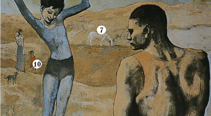 «Девочка на шаре» Пабло Пикассо: о чем говорит мне эта картина?