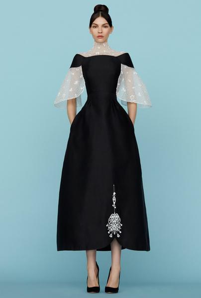 Ульяна Сергеенко представила новую коллекцию на Неделе высокой моды в Париже | галерея [1] фото [10]