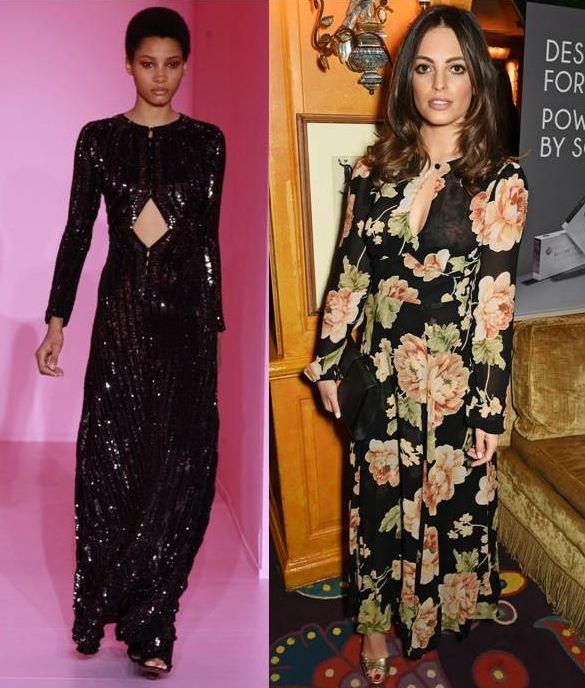 Длинные платья в пол с рукавами: фото