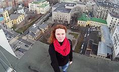 Покорительница крыш: курянка делает селфи на высотных зданиях