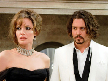 Анджелина Джоли (Angelina Jolie) и Джонни Депп (Johnny Depp)