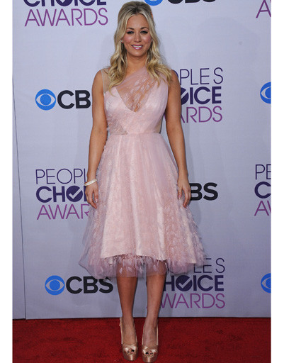 Кейли Куоко (Kaley Cuoco) на People's Choice Awards 2013